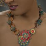 Dreams of Dahlia Necklace - Sold ($1,500))