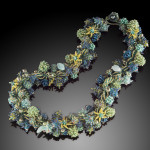 Fern Gulley Necklace - Artist's Collection 2008 Bead Dreams Finalist