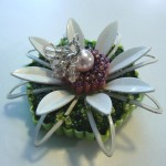 Floral Pin - Sold  ($75)