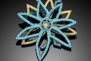 Teal Lily Pin  - Sold ($300)